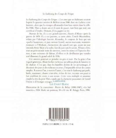 Le faubourg des Coups-de-Trique (Alain Gerber) - Collection Médium - L'école des loisirs