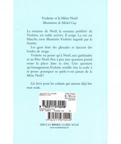 Violette et la Mère Noël (Geneviève Brisac) - Collection Mouche - L'école des loisirs