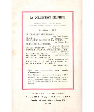 Jok le gitan (Catherine Audières) - Collection Delphine N° 264 - Les Éditions Mondiales