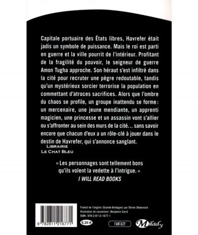 Havrefer T1 : Le héraut de la tempête (Richard Ford) - Collection Fantasy - Editions Milady