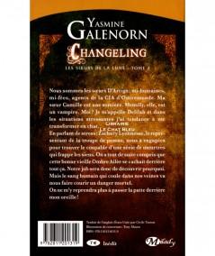 Les soeurs de la lune T2 : Changeling (Yasmine Galenorn) - Collection Bit-Lit - Editions Milady