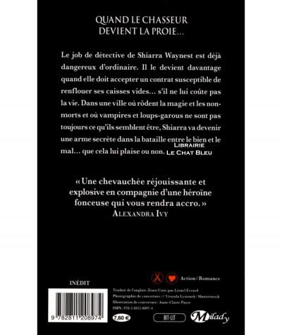 Traquée T1 : Waynest (Jess Haines) - Collection Bit-Lit - Editions Milady