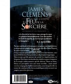 Les bannis et les proscrits T1 : Le Feu de la Sorcière (James Clemens) - Editions Milady