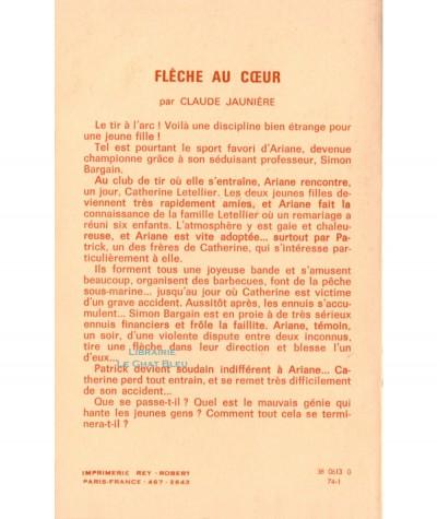 Flèche au coeur (Claude Jaunière) - Editions Tallandier