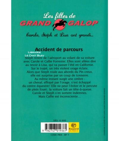Les filles de Grand Galop T1 : Accident de parcours (Bonnie Bryant) - Bayard poche