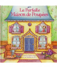 La Parfaite Maison de Poupées : Observe chaque scène par les fenêtres en 3D ! - Editions Cerise bleue