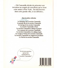 La sorcière Camomille au congrès de sorcellerie (Enric Larreula, Roser Capdevila) - Editions du Sorbier