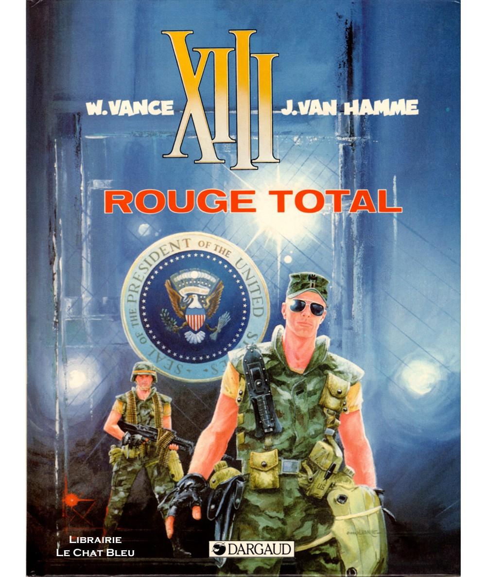 XIII T5 : Rouge total (Jean Van Hamme, William Vance) - BD Dargaud