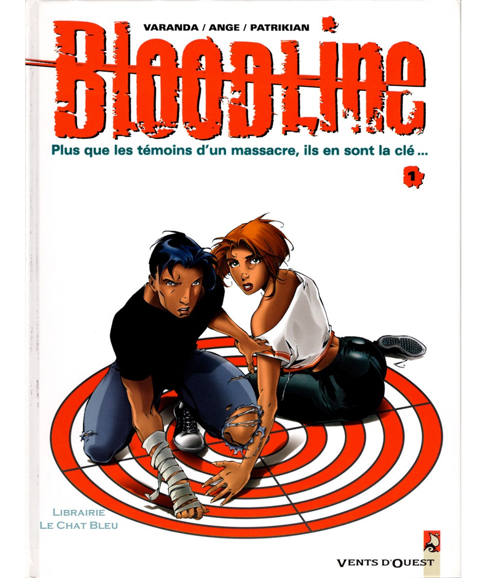 Bloodline T1 : Lune rouge (Alberto Varanda, Stew Patrikian) - BD Vents d'Ouest