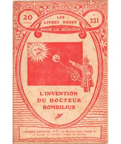 L'invention du docteur Bombilius (H.-Pierre Linel) - Les livres roses pour la jeunesse N° 231