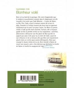 Bonheur volé (Suzanne Cox) - Harlequin Prélud' N° 55