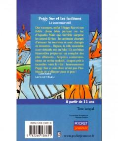 Peggy Sue et les fantômes T4 : Le zoo ensorcelé (Serge Brussolo) - Pocket Junior N° 1225