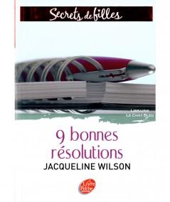 Secrets de filles T1 : 9 bonnes résolutions (Jacqueline Wilson) - Le livre de poche N° 744