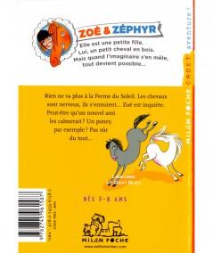 Zoé & Zéphyr T5 : Un poney à tout prix (Béatrice Masini) - Milan Poche Cadet N° 195