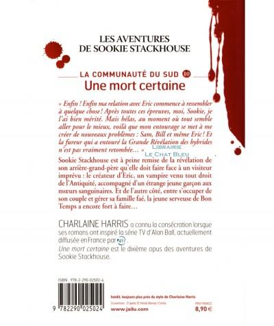 La communauté du Sud T10 : Une mort certaine (Charlaine Harris) - Editions J'ai lu