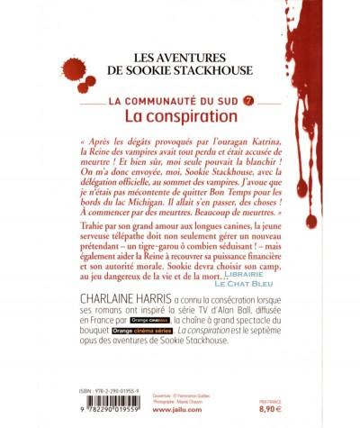 La communauté du Sud T7 : La conspiration (Charlaine Harris) - Editions J'ai lu