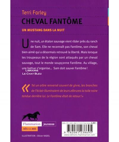 Un mustang dans la nuit T2 : Cheval fantôme (Terri Farley) - Flammarion jeunesse