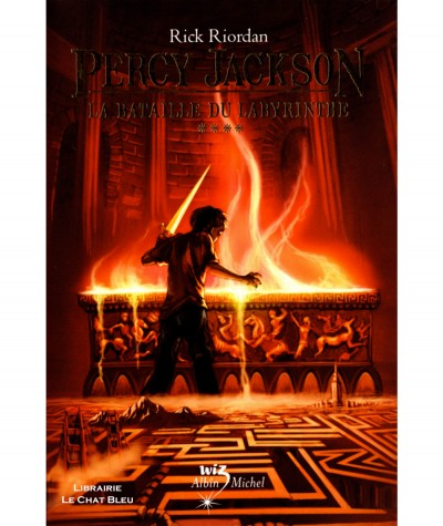 Percy Jackson T4 : La bataille du labyrinthe (Rick Riordan) - Albin Michel