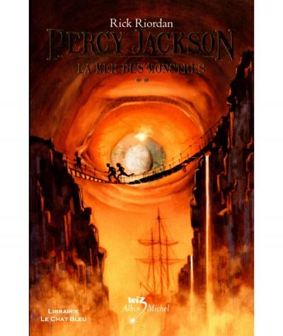Percy Jackson T2 : La mer des monstres (Rick Riordan) - Albin Michel