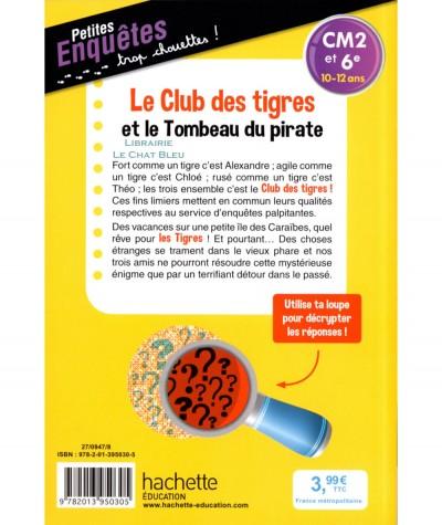 Le Club des tigres et le Tombeau du pirate (Thomas C. Brezina) - Hachette Education