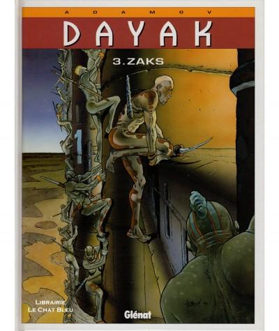 Dayak T3 : Zaks (Philippe Adamov) - Editions Glénat