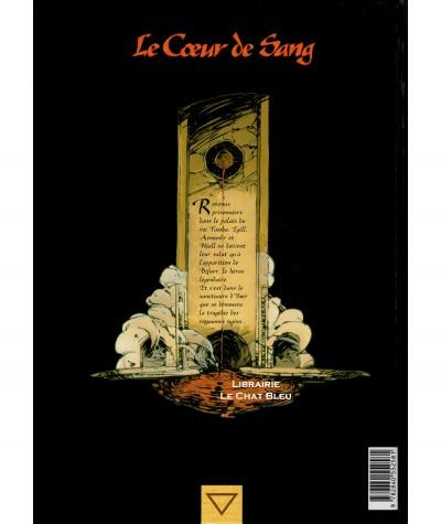 Le Coeur de Sang T3 : Le masque de Loki (Seiter, Mercier, Bailly) - Editions Delcourt