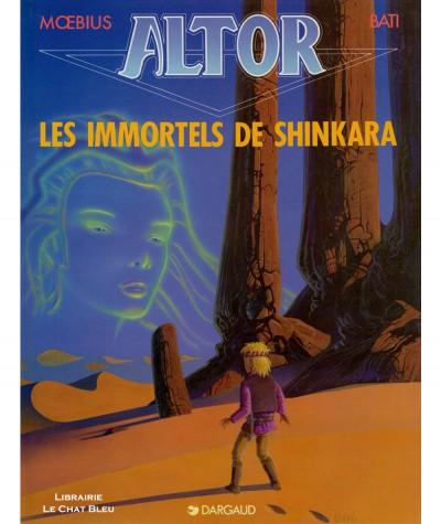 Altor T4 : Les immortels de Shinkara (Moebius, Marc Bati) - Editions Dargaud