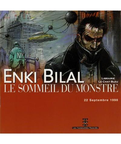 Monstre T1 : Le sommeil du monstre (Enki Bilal) + Dossier de presse - Les Humanoïdes Associés