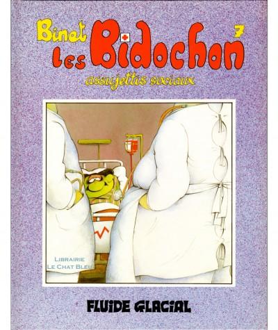 Les Bidochon T7 : Assujettis sociaux (Binet) - Les albums Fluide Glacial