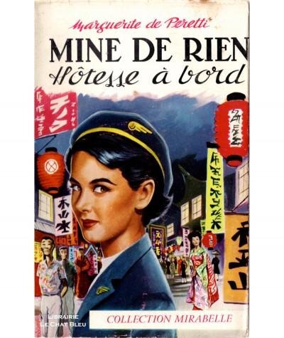 """""""Mine de rien"""" Hôtesse à bord (Marguerite de Peretti) - Mirabelle N° 83 - Editions des Remparts"""