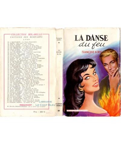 La danse du feu (Françoise Dorys) - Mirabelle N° 68 - Editions des Remparts