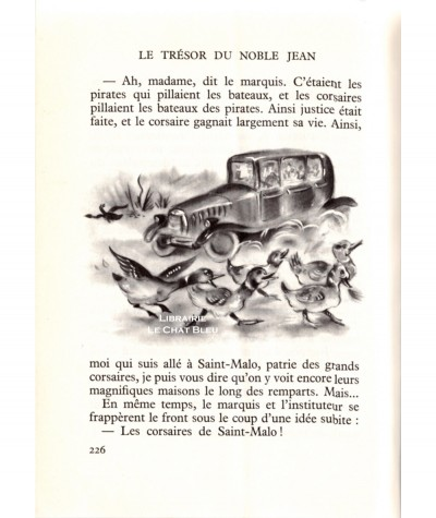 Le trésor du Noble Jean (Paulette Blonay) - Bibliothèque Rouge et Or N° 133