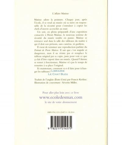 L'affaire Matisse (Georgia Bragg) - Collection Maximax - L'Ecole des loisirs