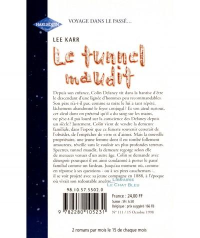 Le tunnel maudit (Lee Karr) - Harlequin - Sixième Sens N° 111
