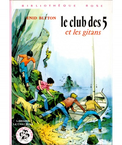 Le Club des Cinq et les gitans (Enid Blyton) - Bibliothèque rose - Hachette