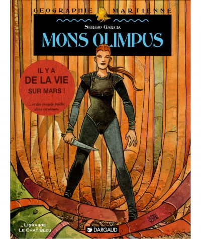 Géographie martienne T2 : Mons Olimpus (Sergio Garcia) - BD Dargaud