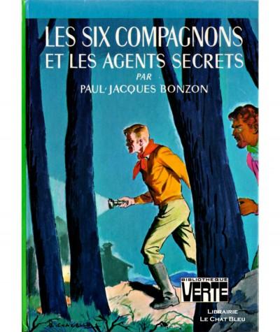 Les six compagnons et les agents secrets (Paul-Jacques Bonzon) - Bibliothèque verte - Hachette