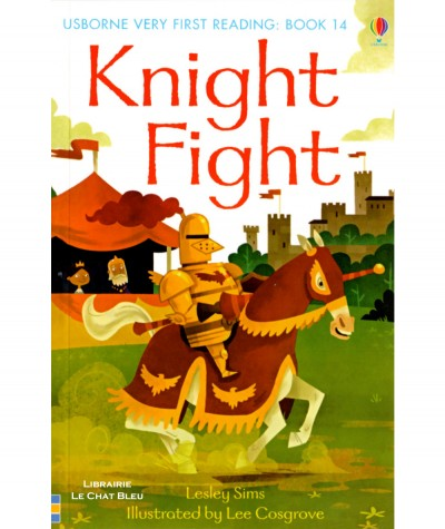 Knight Fight (Lesley Sims, Lee Cosgrove) - USBORNE Very First Reading
