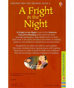 A Fright in the Night (Pussel Punter, Gerald Guerlais) - USBORNE Very First Reading