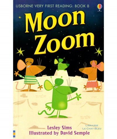 Moon Zoom (Lesley Sims, David Semple) - Usborne Very First Reading