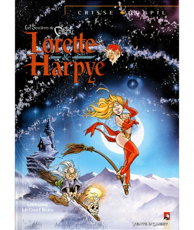 Lorette et Harpye (Jacky Goupil, Crisse) - Vents d'Ouest