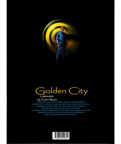 Golden City T1 : Pilleurs d'épaves (Nicolas Malfin, Daniel Pecqueur) - Editions Delcourt
