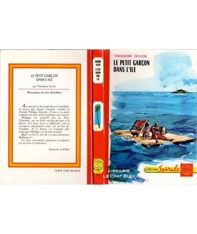 Le petit garçon dans l'île (Theodore Taylor) - Collection Spirale N° 3.500
