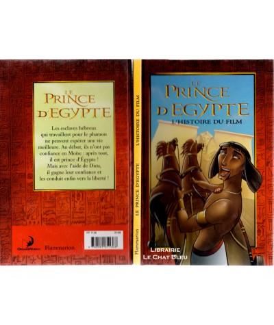 Le Prince d'Egypte (Dominique Mathieu) - L'histoire du film - Editions Flammarion