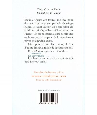 Chez Maud et Pierre (Isabelle Bonameau) - Collection Animax - L'école des loisirs
