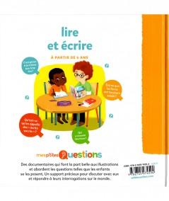 Mes p'tites questions : Lire et écrire - MILAN Jeunesse