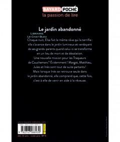 Les traqueurs de cauchemars T3 : Le jardin abandonné (Marie-Hélène Delval) - BAYARD Jeunesse