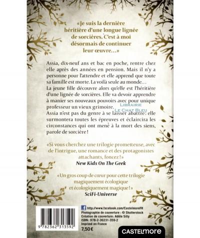 L'héritière des Raeven T1 : Sorcière malgré elle (Méropée Malo) - Editions Castelmore