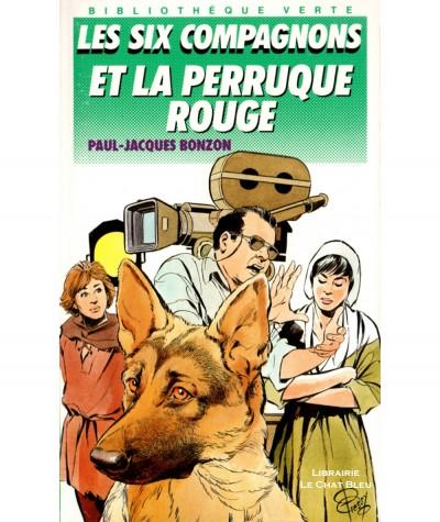 Les six compagnons et la perruque rouge (Paul-Jacques Bonzon) - Bibliothèque verte N° 190 - Hachette