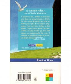 A comme voleur (Jean-Claude Mourlevat) - Pocket Junior N° 405